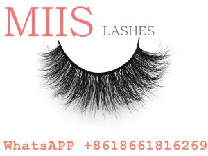 branding packaging clear band 3D mink lashes