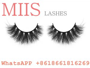 custom luxury naked band false lashes