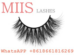 own brand 3D mink strip eyelash