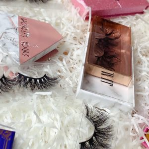 custom made eyelash box